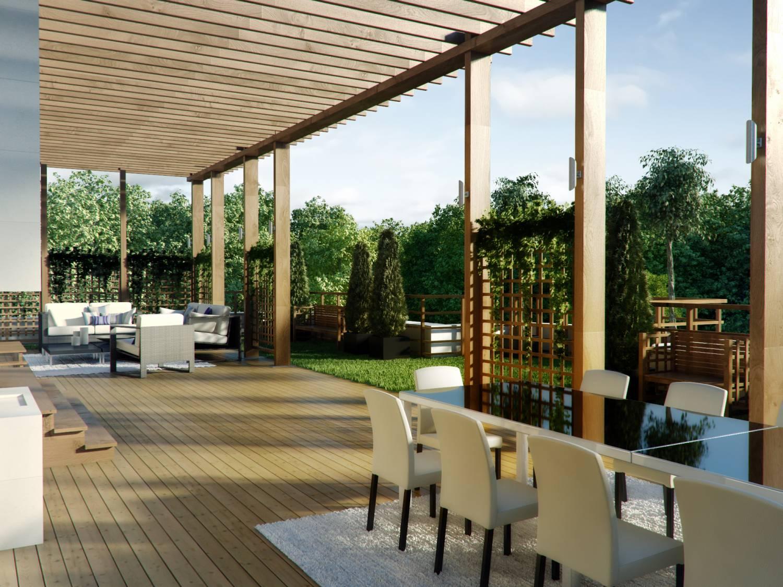 terrasse 91 modele, photo terrasse bois 18 deco, à MarlyleRoi 78